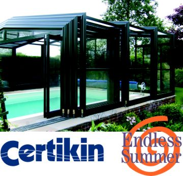 Certikin Endless Summer telescopic enclosure
